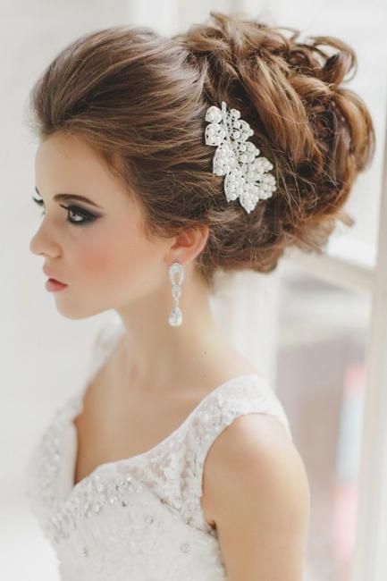 Los mejores 20 peinados de novia para boda 2016 for Monos novia