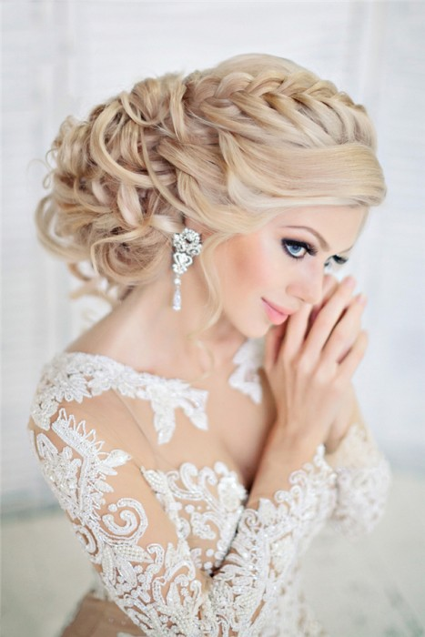 peinados-novia-trenza-elegante