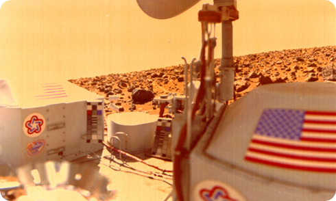 Viking en Marte