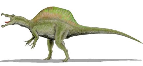 spinosaurus, dinosaurios más grandes
