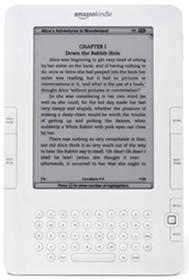 Kindle de segunda generación.