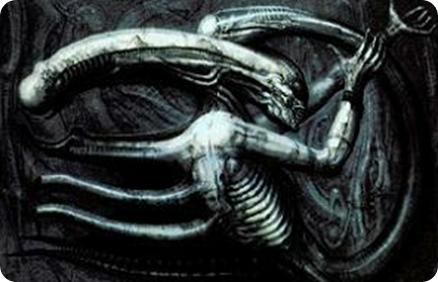 Necronom IV, el alien original de Giger