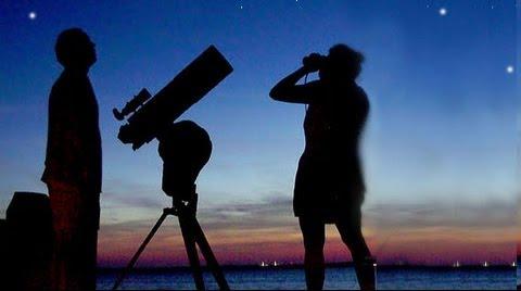prismaticos ver estrellas