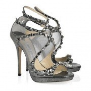 Jimmy Choo Viola Crystal Embellishment Sandal Black-180x180