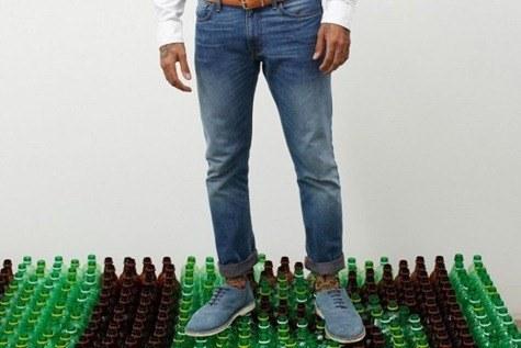 Vaqueros reciclados de Levi Strauss