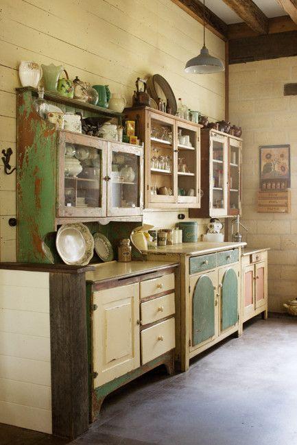 COCINAS VINTAGE: + de 34 ideas para decorar tu cocina al estilo vintage