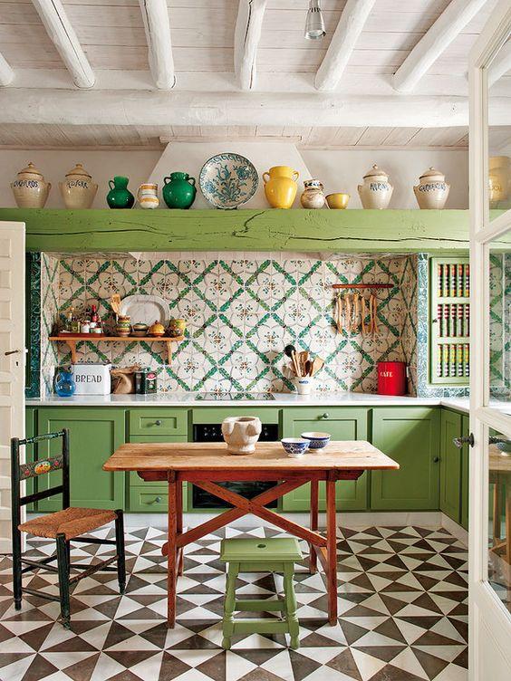 cocina vintage 18 - Cocinas Vintage