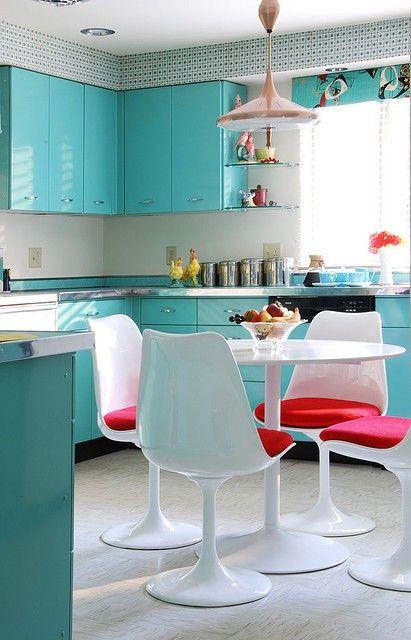 Más de 34 Ideas para decorar una cocina al estilo Vintage ...