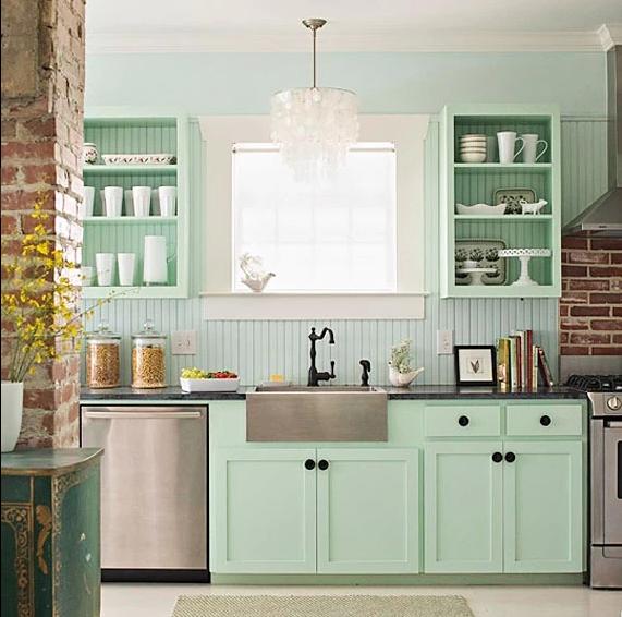 COCINAS VINTAGE: + de 34 ideas para decorar tu cocina al ...