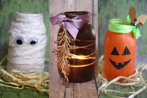 decoracion-halloween-botes-decorados