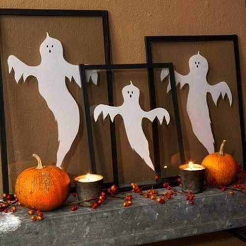 decoracion-halloween-fantasmas-en-un-cuadro
