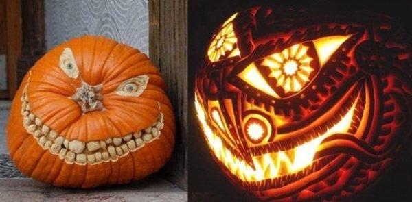 decorar-calabazas-para-halloween-terror