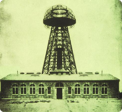 Torre Tesla en 1904