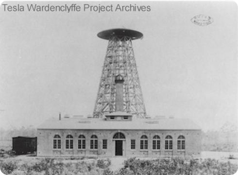 Torre Tesla en 1902