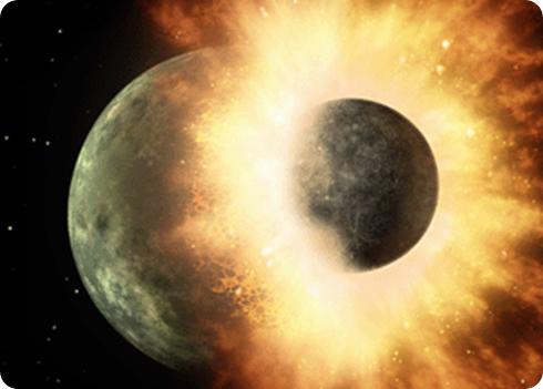 origen de la luna