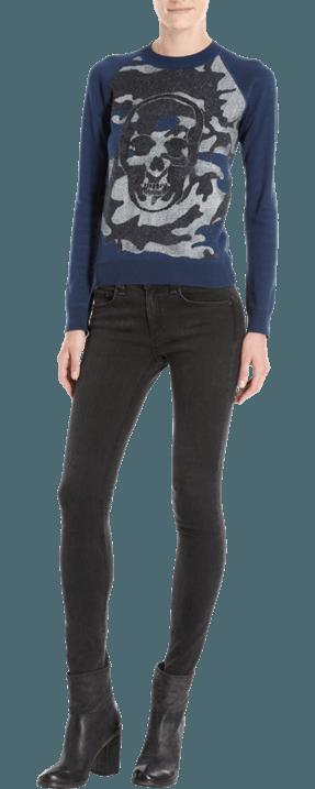 Moda en jerséis y camisetas| las calaveras