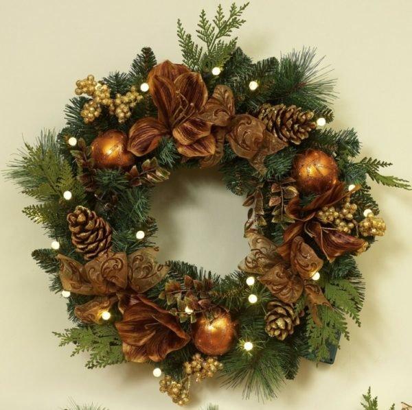 coronas-de-navidad-marrones