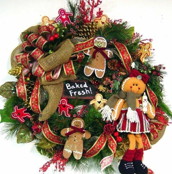 coronas-de-navidad-munecos-galletas