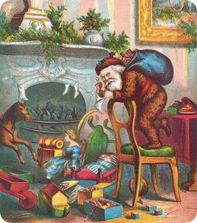 Papá Noel, Thomas Nast