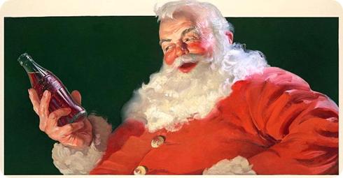 Santa Claus, Coca Cola, 1931