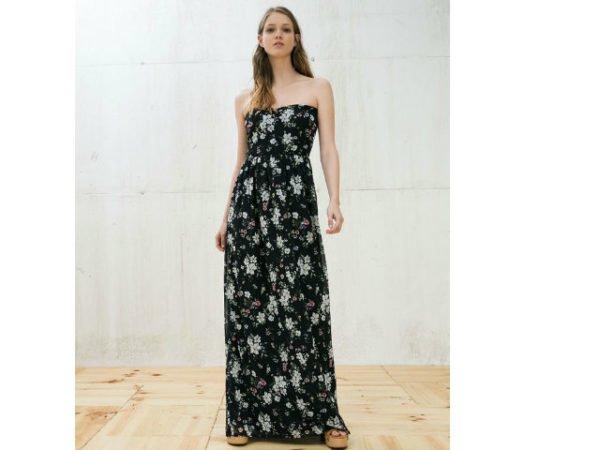 berskha-primavera-verano-2016-vestido-negro-flores-largo