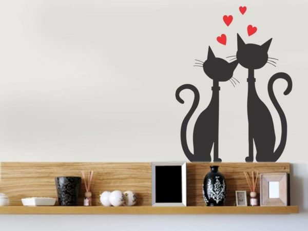 decoracion-san-valentin-para-el-salon-gatos