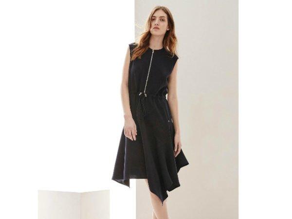 vestido-adolfo-dominguez-2016-corto-negro-cremallera