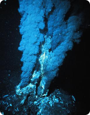 fumarola oceánica, sopa primordial