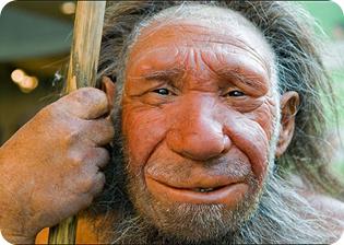 reconstrucción de un anciano neandertal