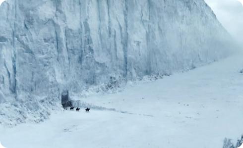 El Muro, Juego de Tronos