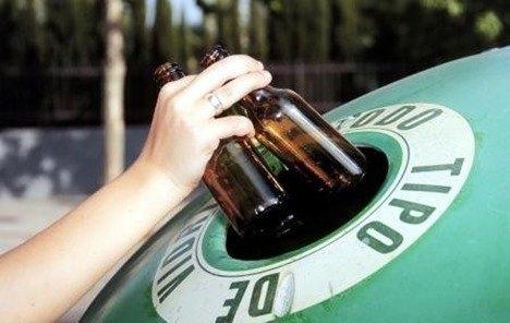 ¿Cómo se recicla el vidrio?
