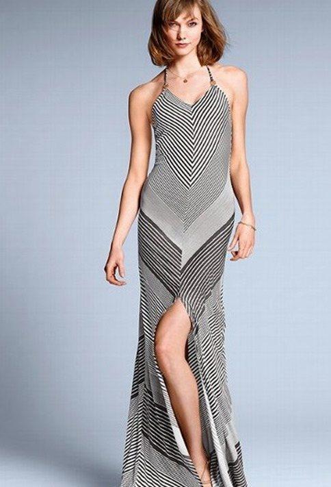 Vestido de verano a rayas V. Secret