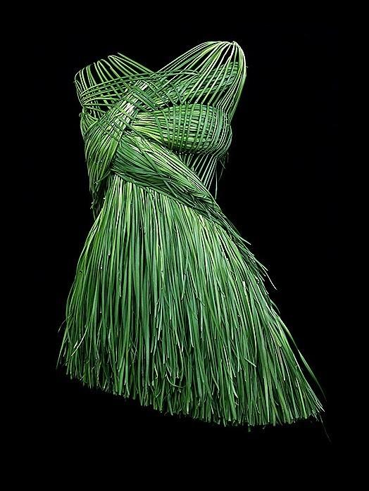 Vestido de cebollino de Sung Yeonju