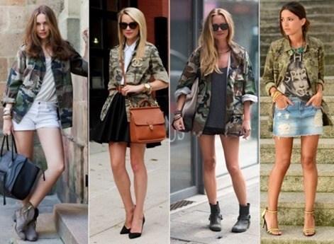 Camuflaje fashion