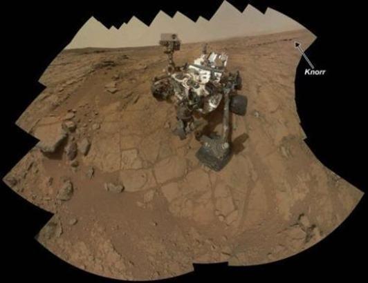 robot Curiosity