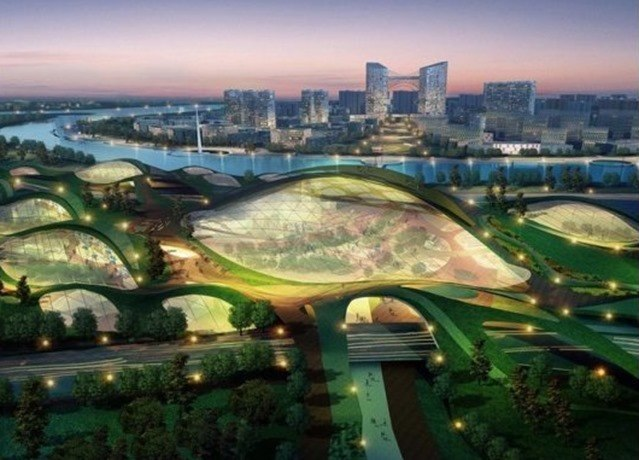 Tianjin Eco-city en China