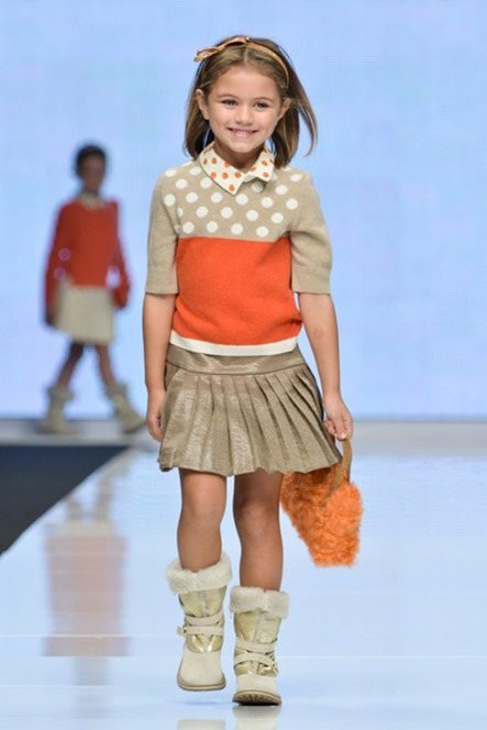 Tendencias moda niñas invierno 2017