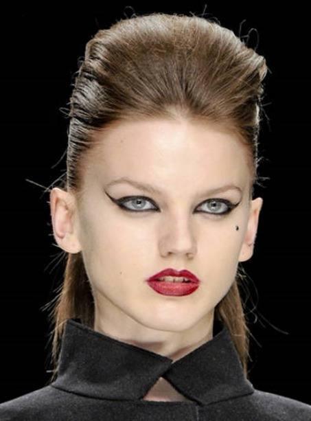 Maquillaje Invierno-ojos felinos