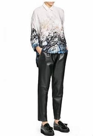 Pantalones de cuero (Zara, Mango y otras tiendas): ¿A qué precios puedes encontrarlos?