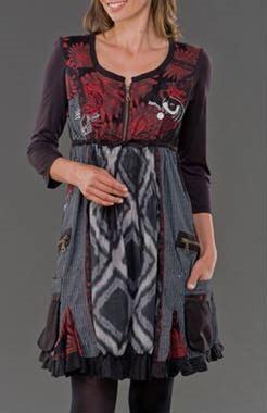 Desigual vestidos y abrigos originales