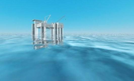 Low temperature thermal desalination