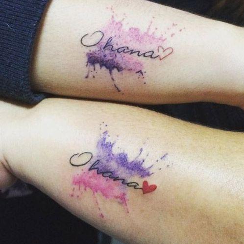 Tatuajes Para Madres E Hijas 2019 Tendenziascom