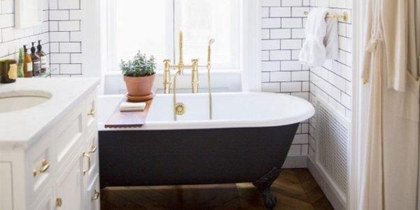 baños-pequeños-con-bañera-victoriana