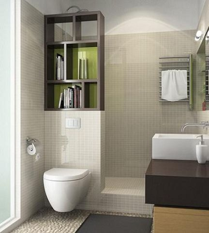 baos pequeos modernos u gran ducha