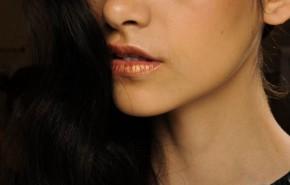 Labios bicolor |Tendencias de maquillaje primavera verano 2014