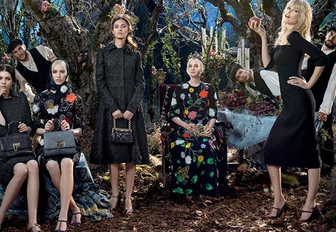 3ddfdc04d3 Colección Dolce & Gabbana otoño invierno 2014-2015 - Tendenzias.com