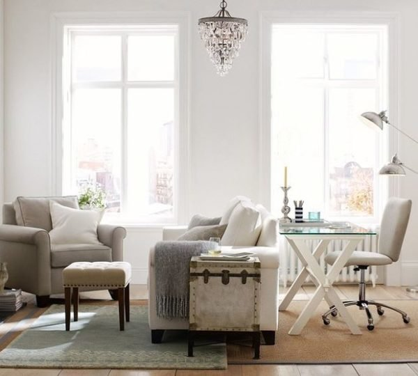 30 ideas con fotos de c mo decorar salones peque os for Decoracion de salon comedor pequeno
