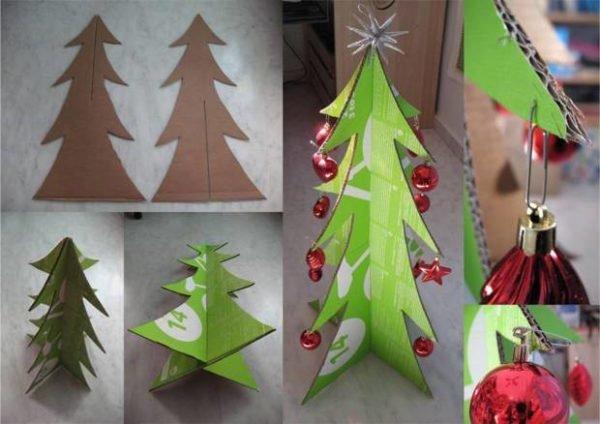arbol-de-navidad-reciclado-hecho-con-carton