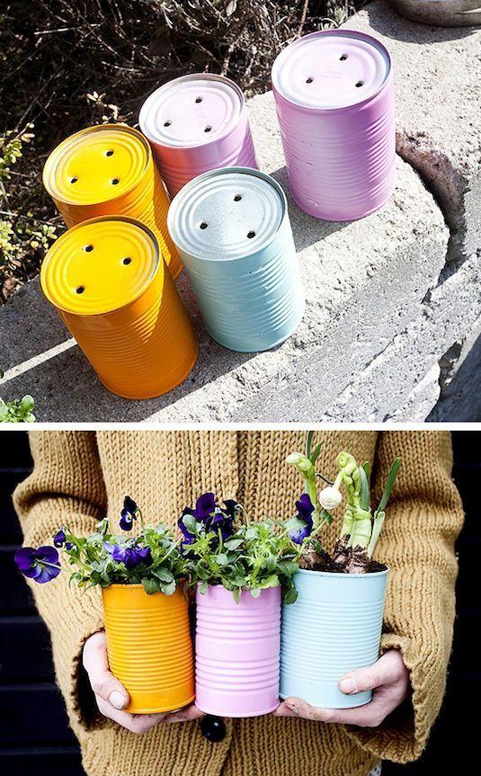 macetas originales recicladas