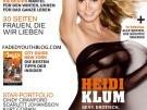Heidi Klum tapa de la revista Max de dicembre